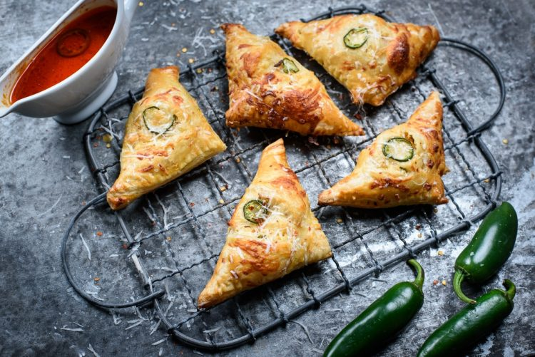 Buffalo Chicken Turnovers