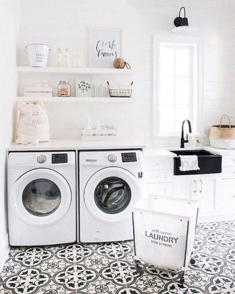 Laundry Room Inspiration to Steal Right Now