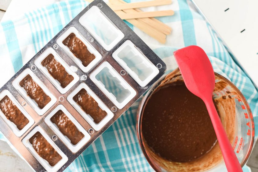 Chocolate Coconut Chia Pudding Pops 6