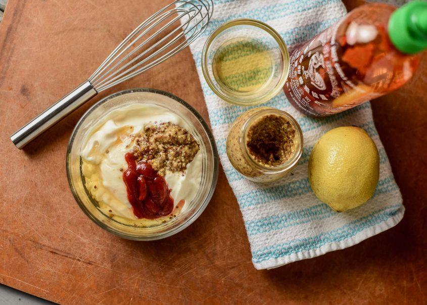 Sriacha Honey Mustard