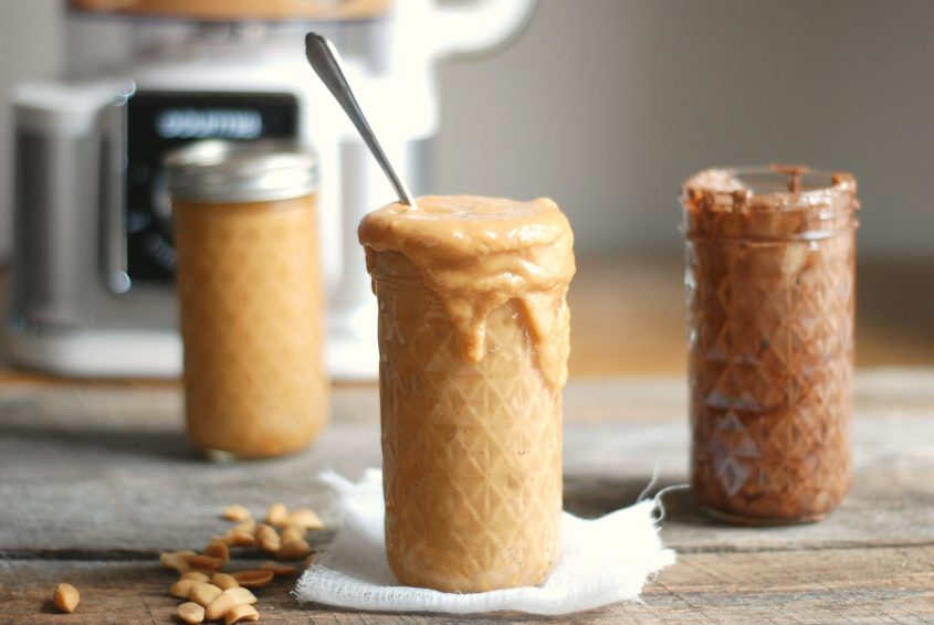 homemade peanut butter