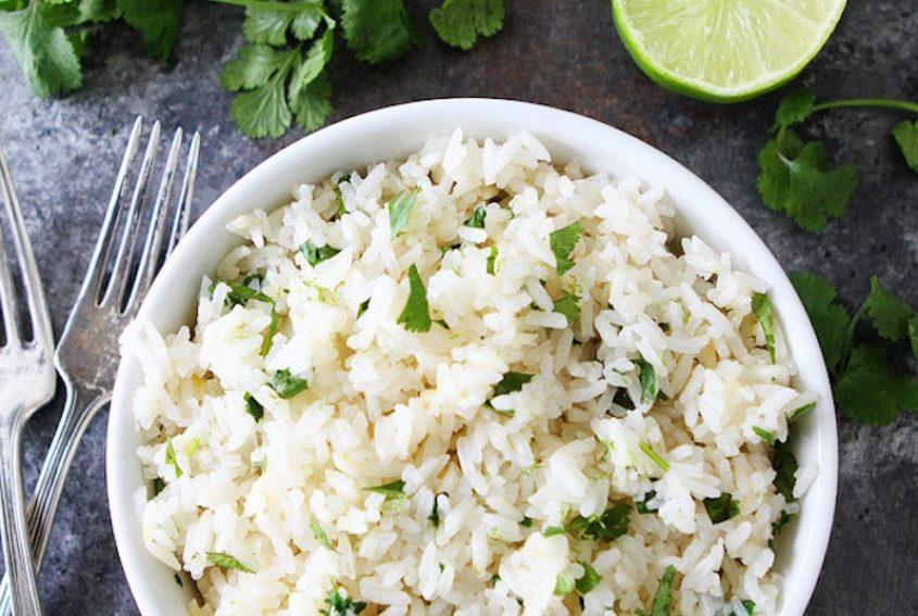 Instant Pot Cilantro Lime Rice 2