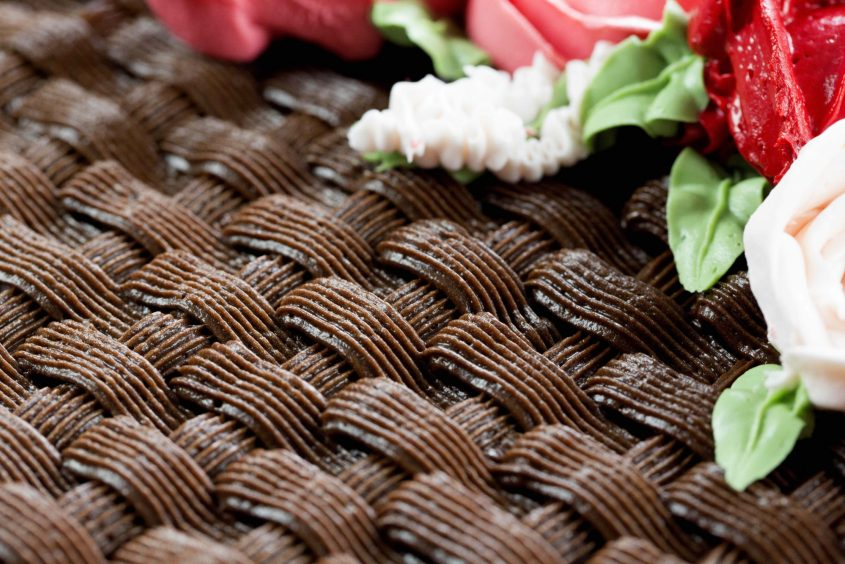 Mothers Day Cake Basketweave Resize