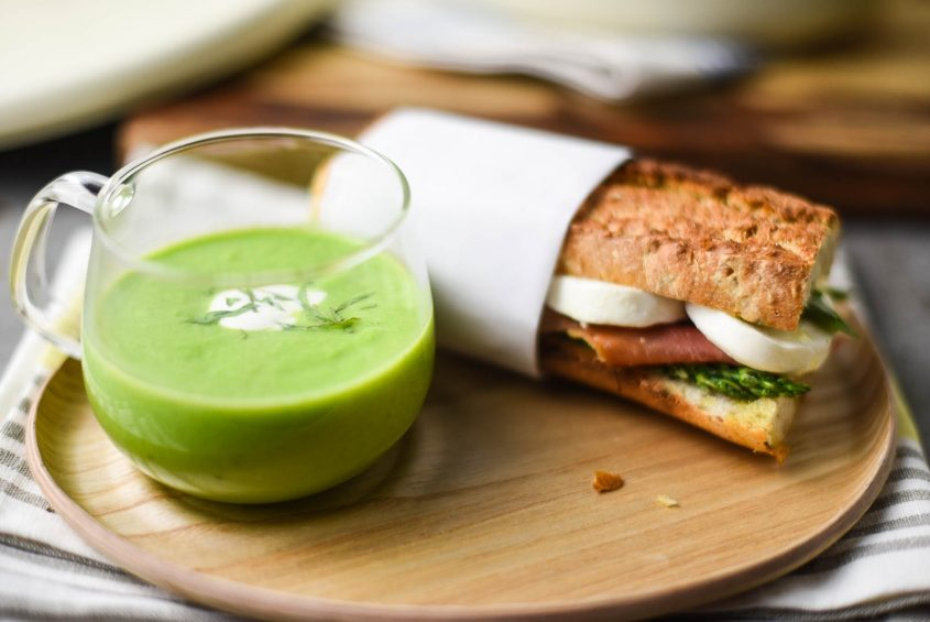 Pea Soupand Sandwich 5