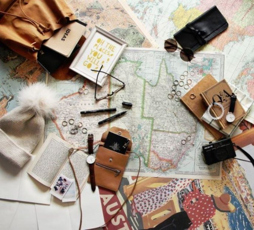 Travel Tips Inspired Home