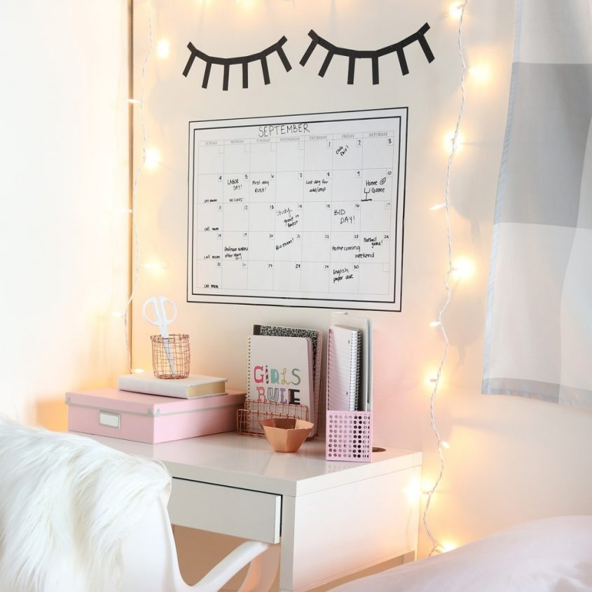 Back To School Inspired Home Workspace