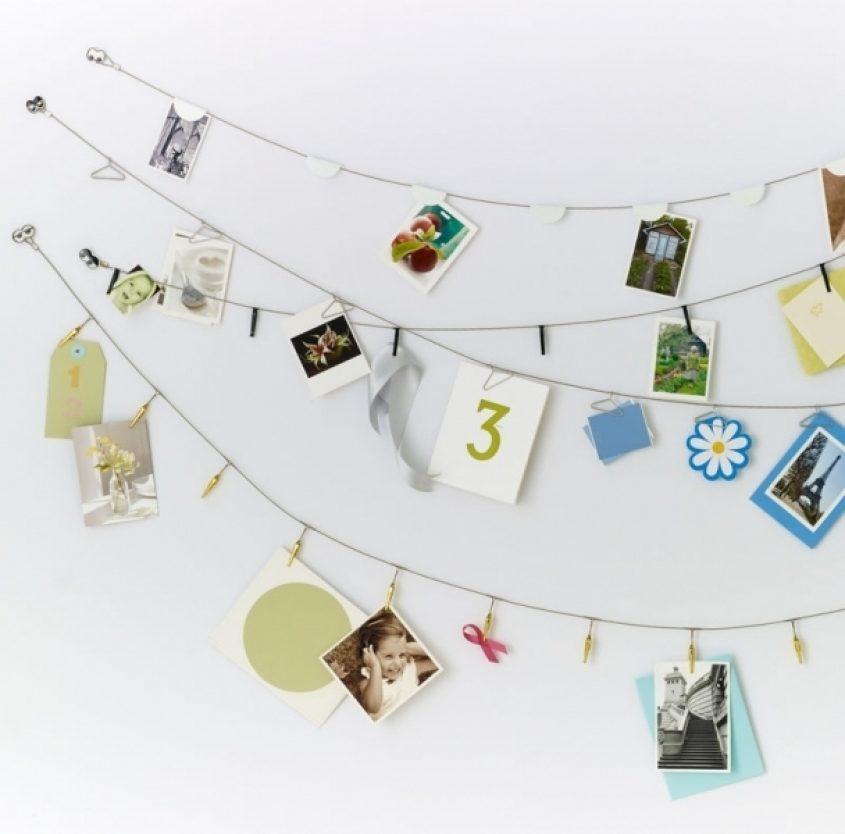 Dorm Inspired Home Photo Display