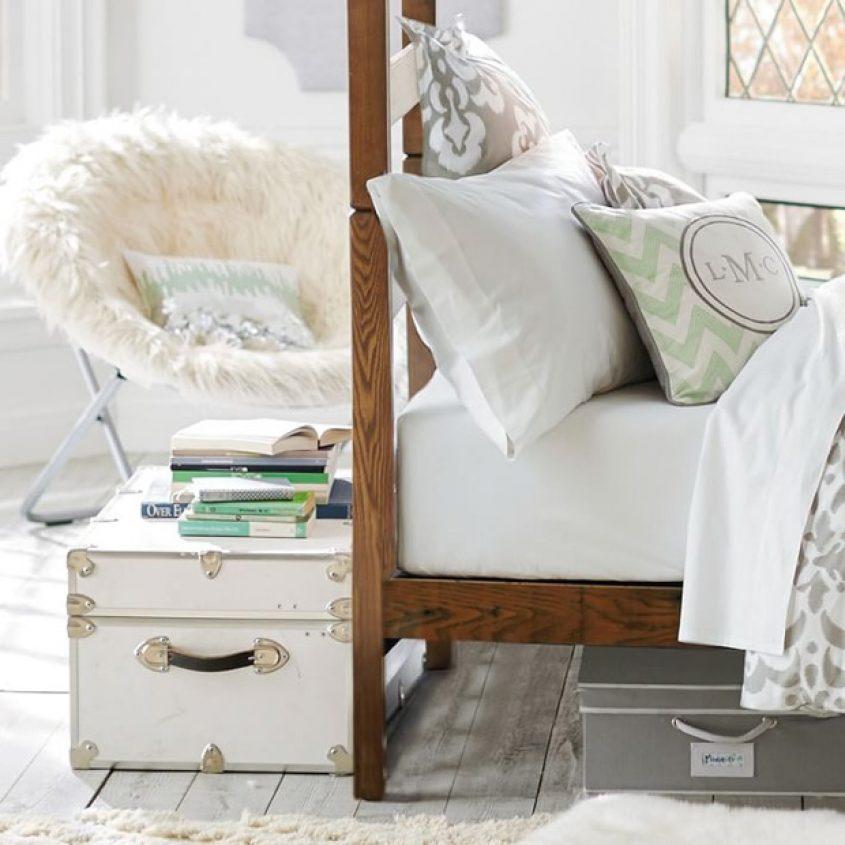 Dorm Trunk Storage Inspired Home