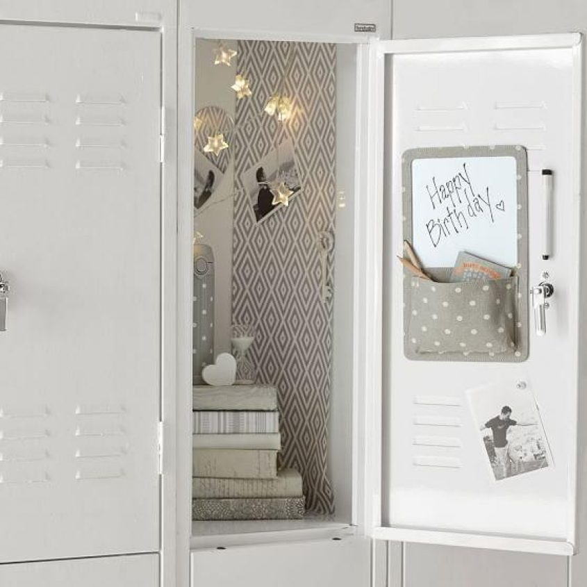 12 Ways To Have The Coolest Locker In The Hallway
