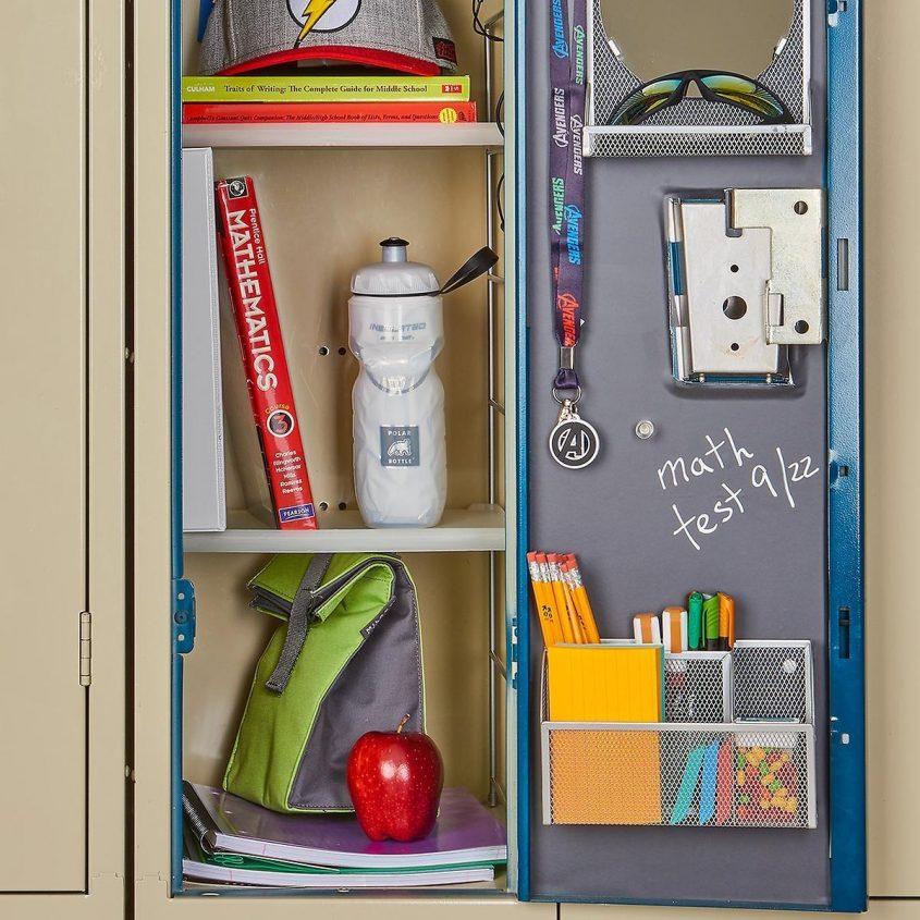 Locker Organization Inspired Home Tips