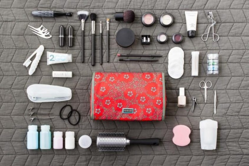 Travel Tips Toiletries Inspired Home