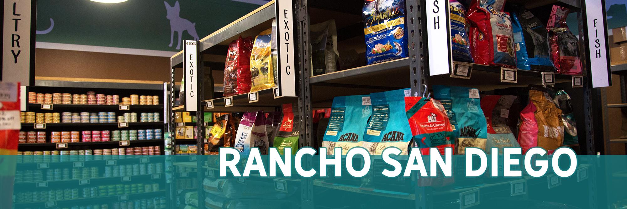 Natural Pet Food in Rancho San Diego