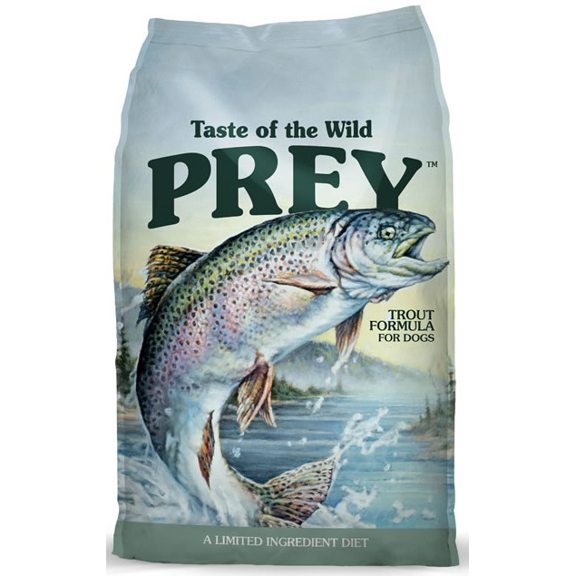 Taste of the Wild Prey Trout Dry Dog Food 25lbs
