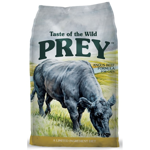 Taste of the Wild Prey Angus Beef Dry Cat Food 15lbs