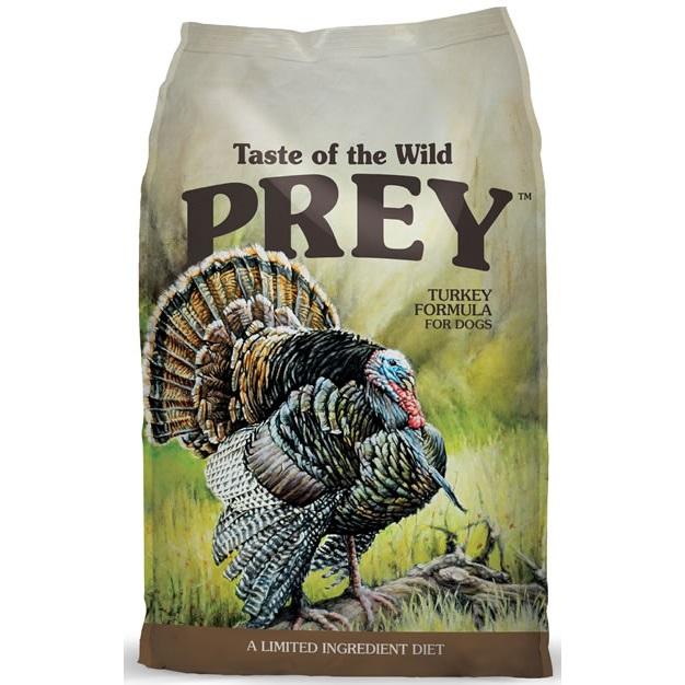 Taste of the Wild Prey Turkey Dry Dog Food 8lbs