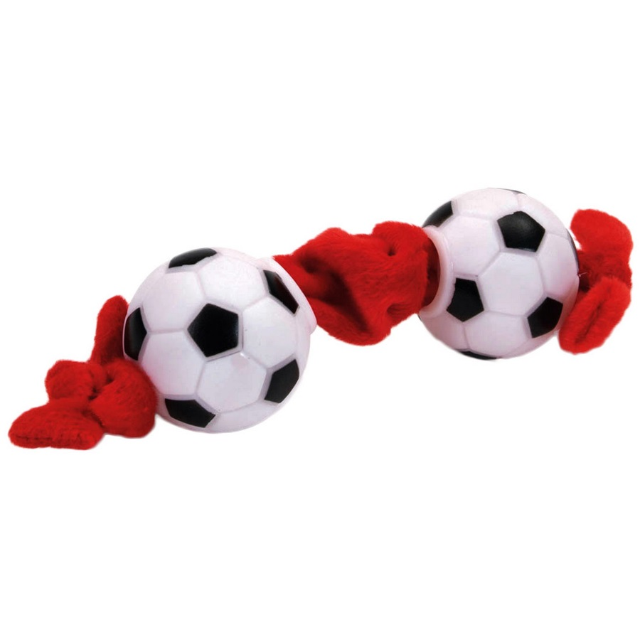 Coastal 'Li'l Pals' Soccer Ball Tug Plush and Vinyl Dog Toy