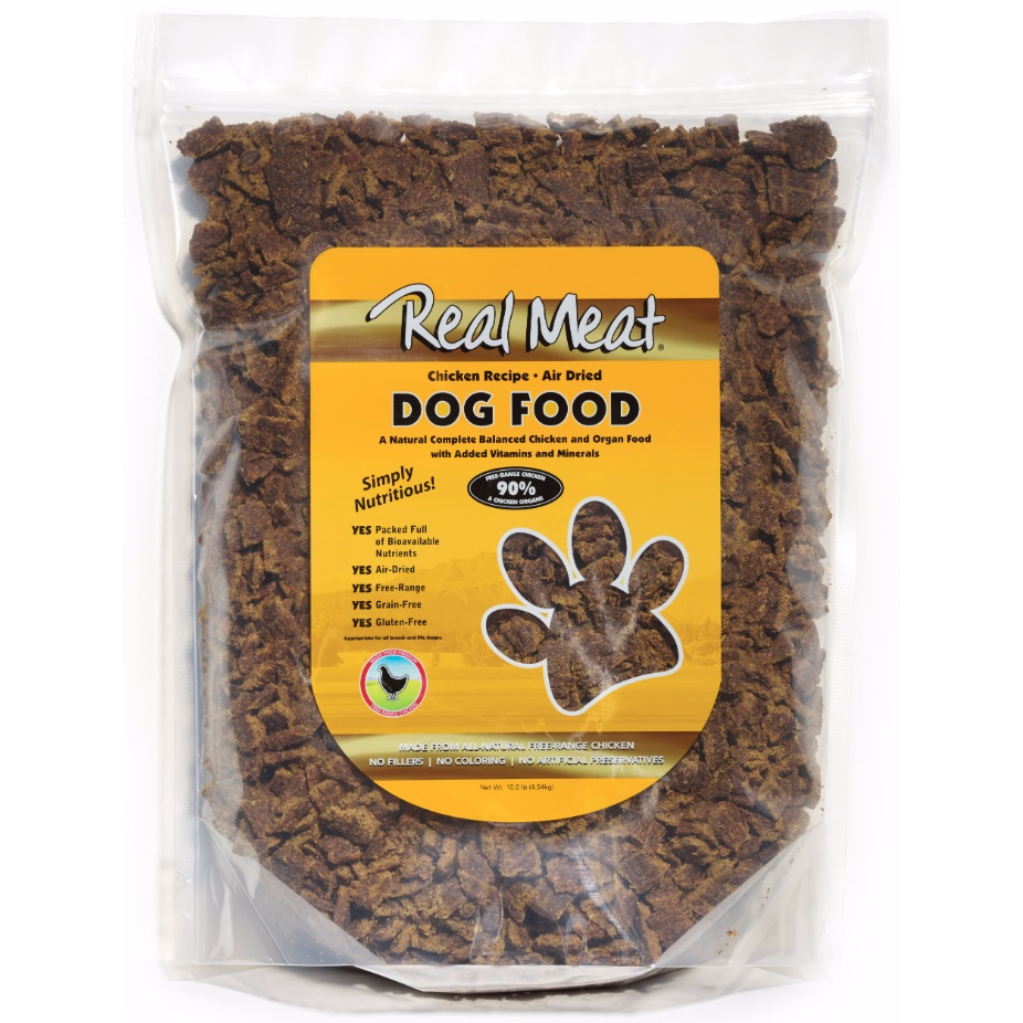 The Real Meat Company 90% Chicken Air-Dried Dog Food 10lbs