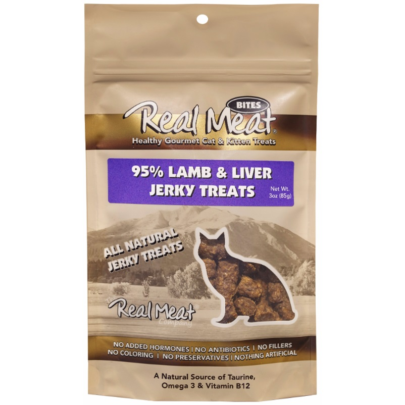 The Real Meat Company Lamb Liver Treat Cat 3z