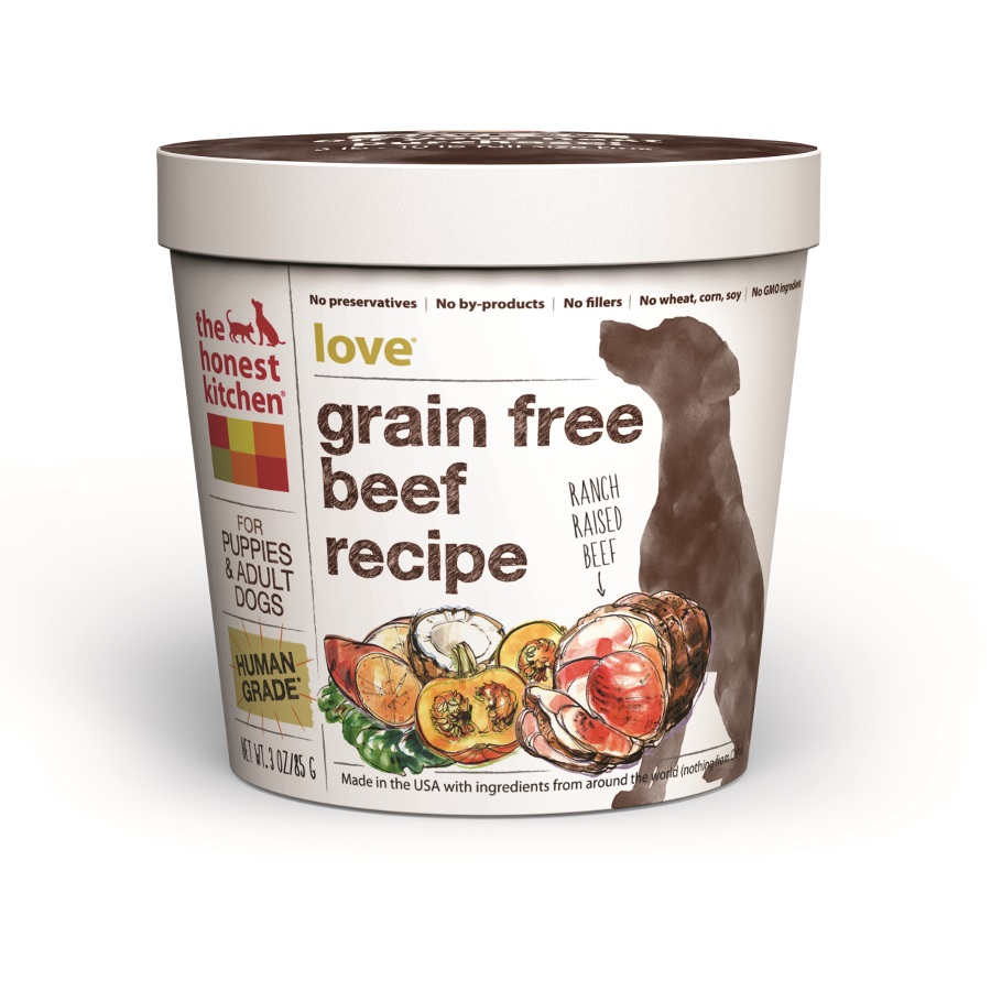 The Honest Kitchen Love Beef 3z Cup, 8