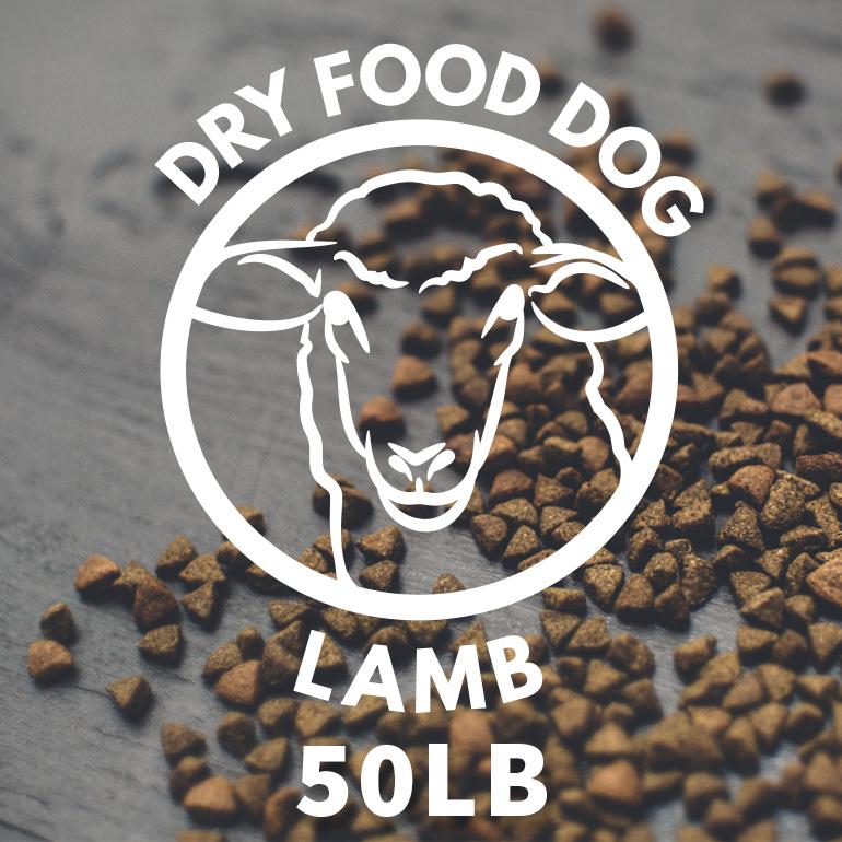 Naked Lamb and Brown Rice Dry Dog Food 50lbs