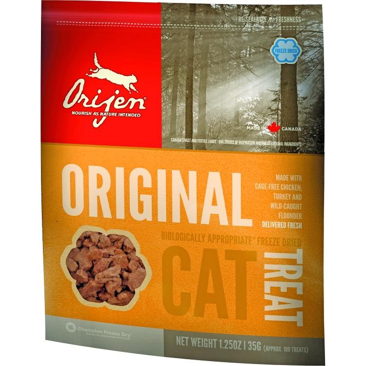 Orijen Grain-Free Original Freeze Dried Cat Treats 1.25z