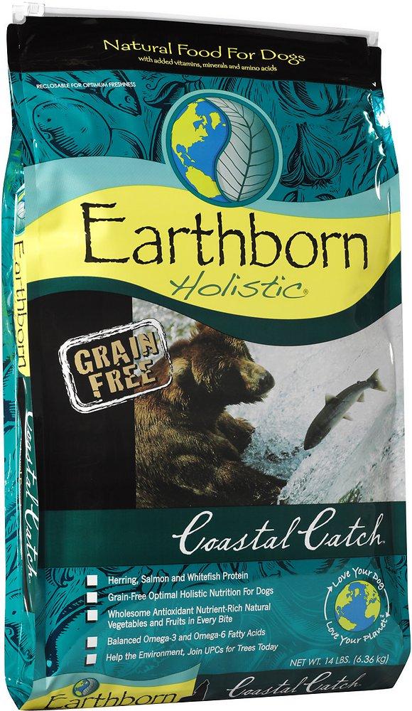 Earthborn Holistic Coastal Catch Grain-Free Natural Dry Dog Food 14lbs