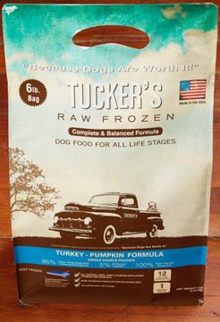 Tucker's Raw Frozen Grain-Free Turkey & Pumpkin Formula Raw Frozen Dog Food 6lbs