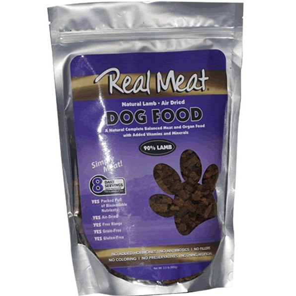 The Real Meat Company 90% Lamb Air-Dried Dog Food 10lbs