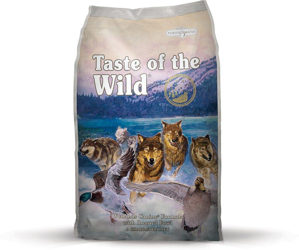 Taste of the Wild Wetlands Dry Dog Food 5lbs