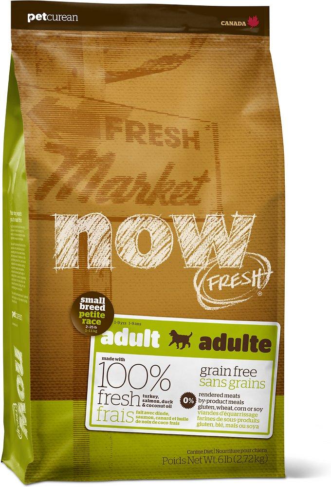 Petcurean Now Fresh Grain-Free Small Breed Adult Recipe Dry Dog Food 12lbs