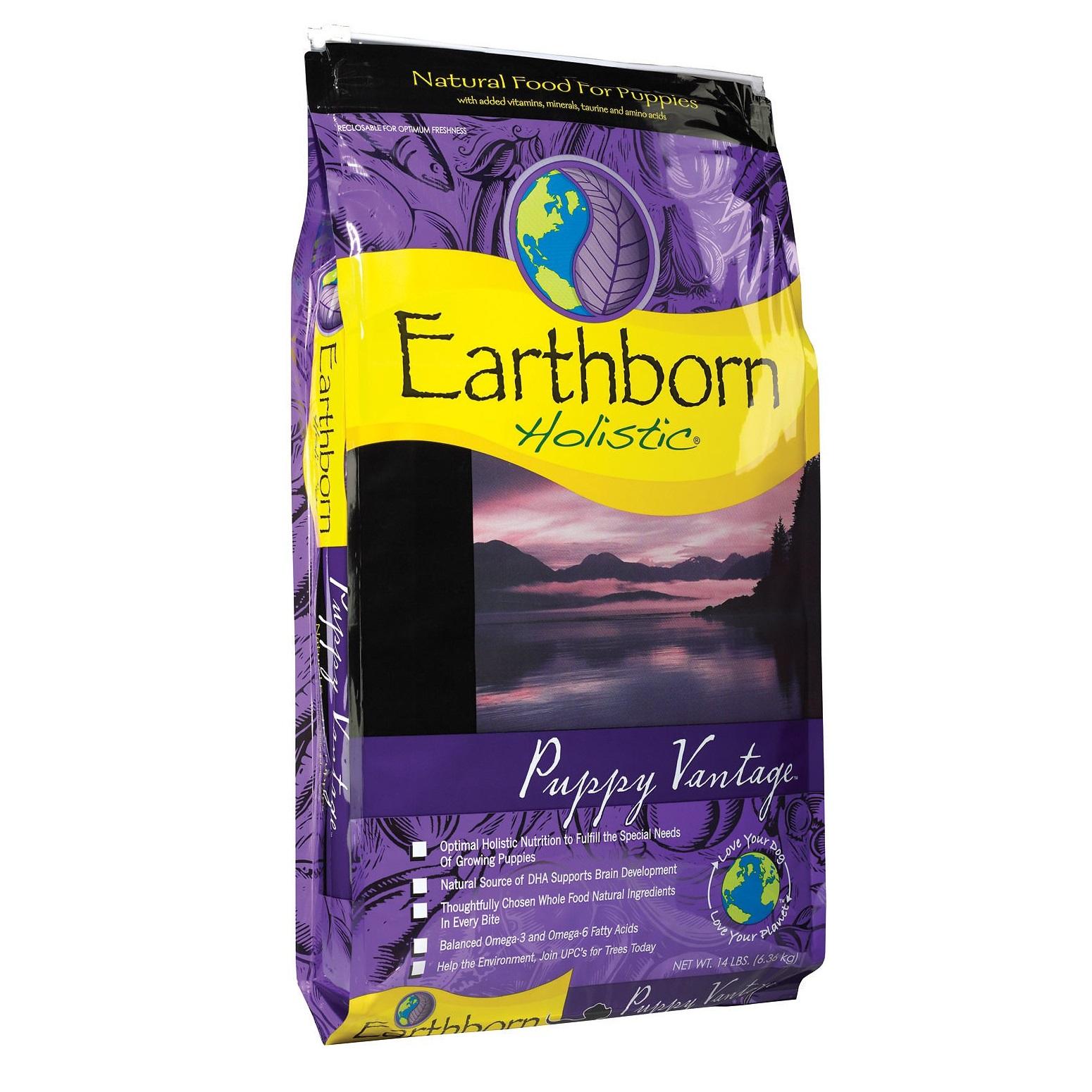 Earthborn Holistic Puppy Vantage Natural Dry Dog Food 14lbs