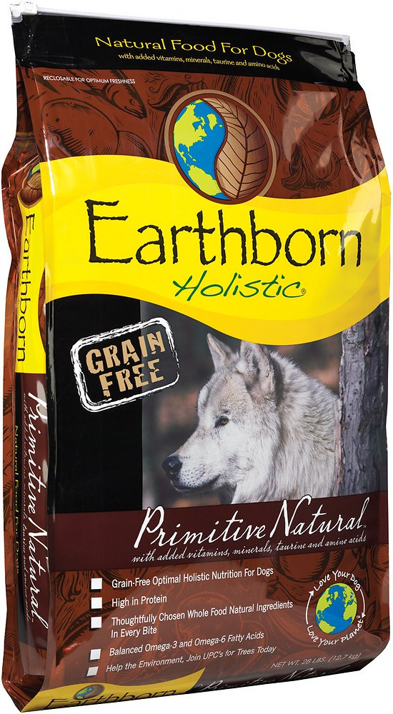 Earthborn Holistic Primitive Natural Grain-Free Natural Dry Dog Food 28lbs