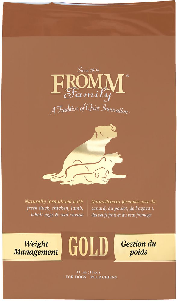 Fromm Gold Weight Management Dry Dog Food 5lbs