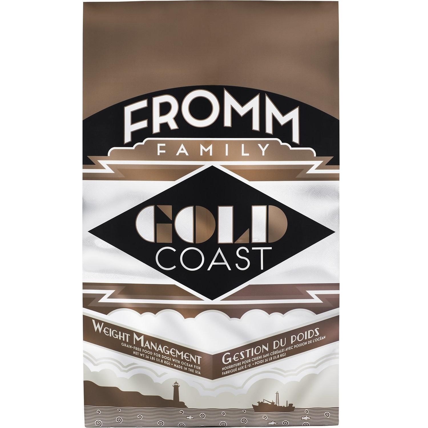 Fromm Gold Coast Grain-Free Weight Management Dry Dog Food 26lbs
