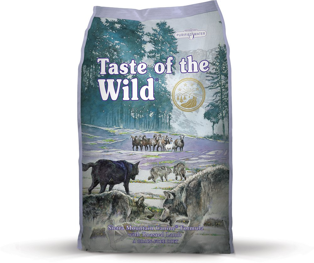Taste of the Wild Sierra Mountain Dry Dog Food 15lbs
