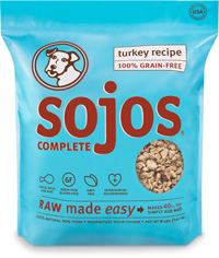 Sojos Complete Turkey Recipe Freeze Dried Dog Food 8lbs