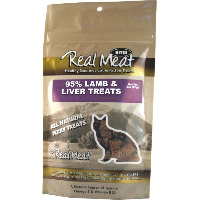 The Real Meat Lamb Liver Treat Cat 3z