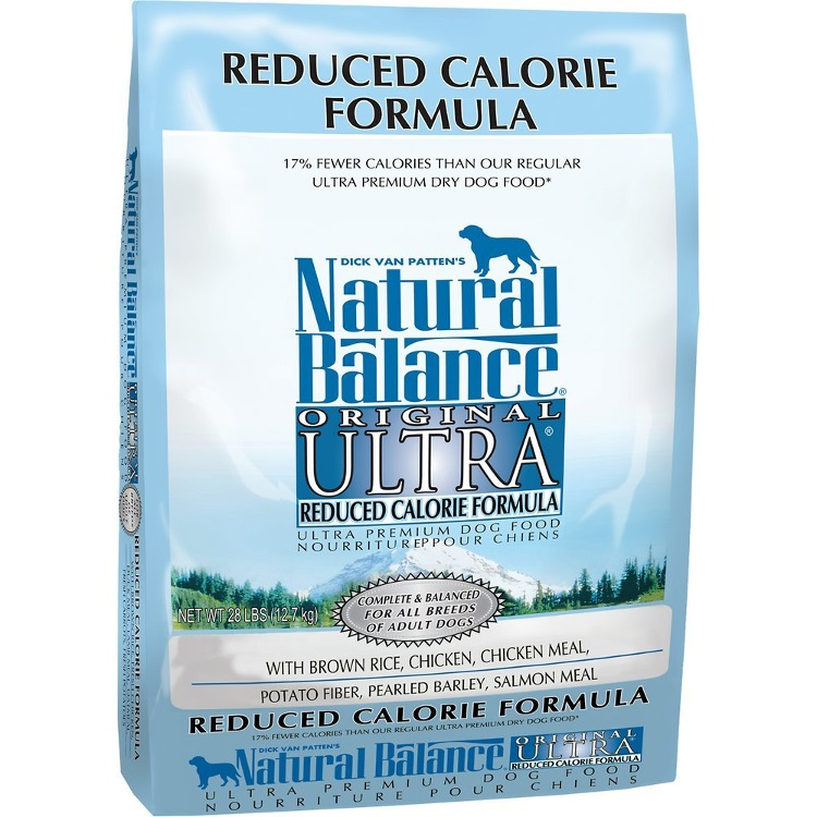 Natural Balance Original Ultra Reduced Calorie Formula Dry Dog Food 28lbs