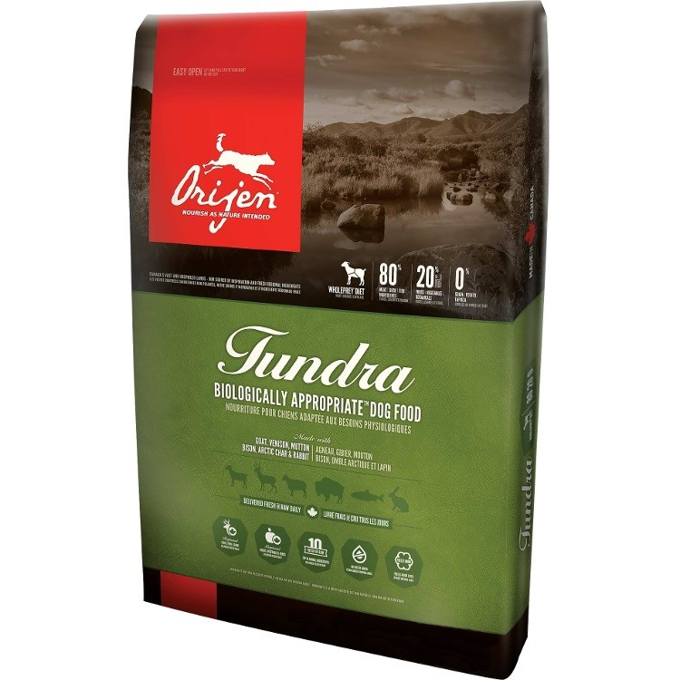 Orijen Tundra Grain-Free Dry Dog Food 4.5lbs