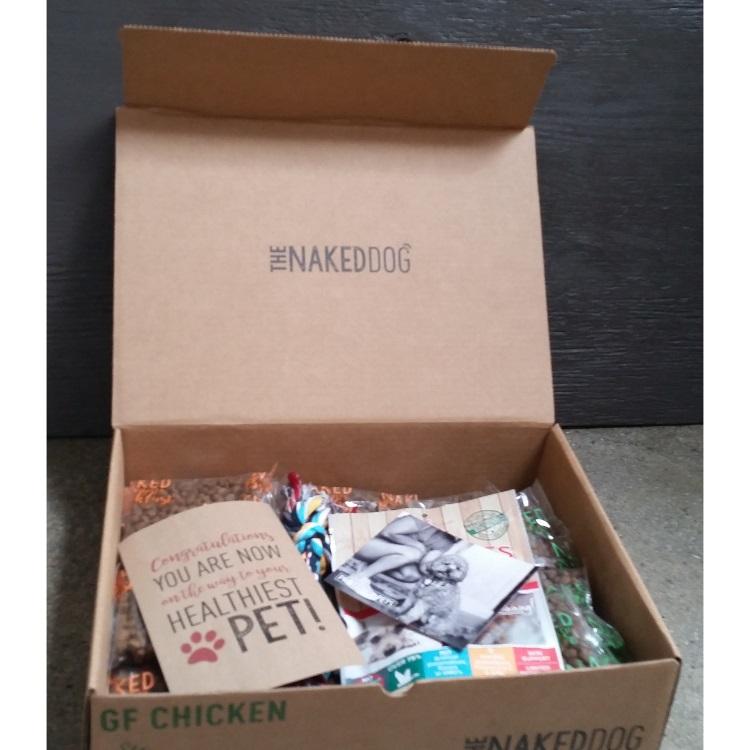 Box Naked Dog Small Grain-Free Chicken 3z