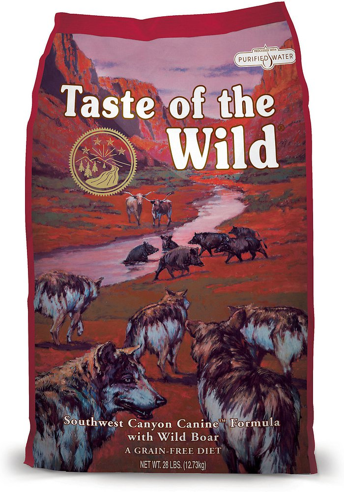 Taste of the Wild Southwest Canyon Dry Dog Food 28lbs