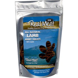 The Real Meat Lamb Long Strip Treat 8z