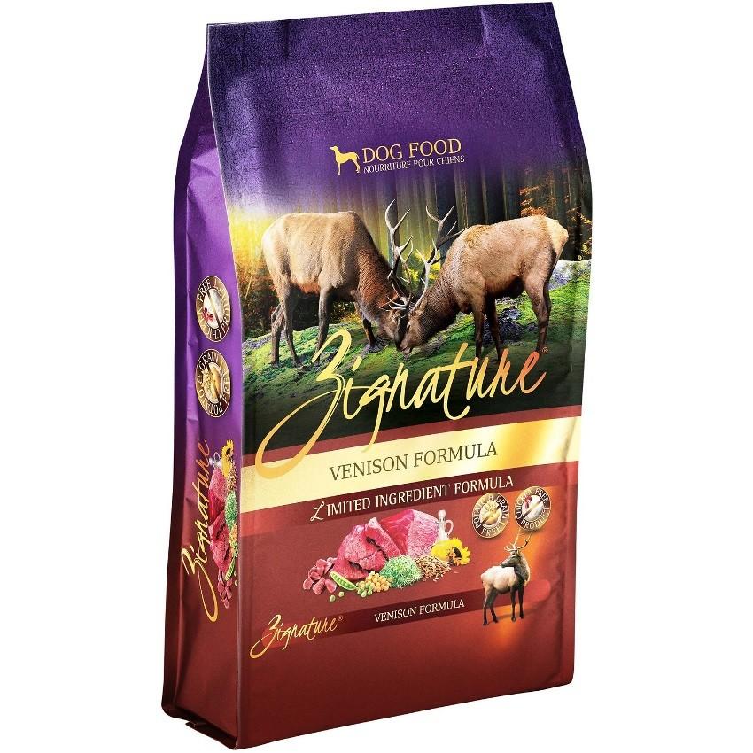 Zignature Grain-Free Venison Limited Ingredient Formula Dry Dog Food 4lbs