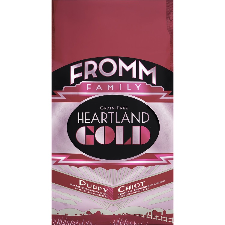 Fromm Heartland Gold Grain-Free Puppy Dry Dog Food 4lbs