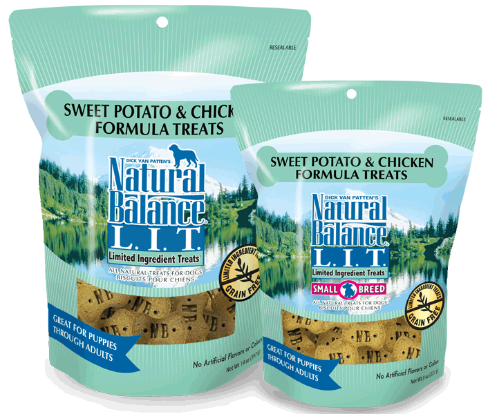 Natural Balance Limited Ingredient Treats Sweet Potato & Chicken 14z