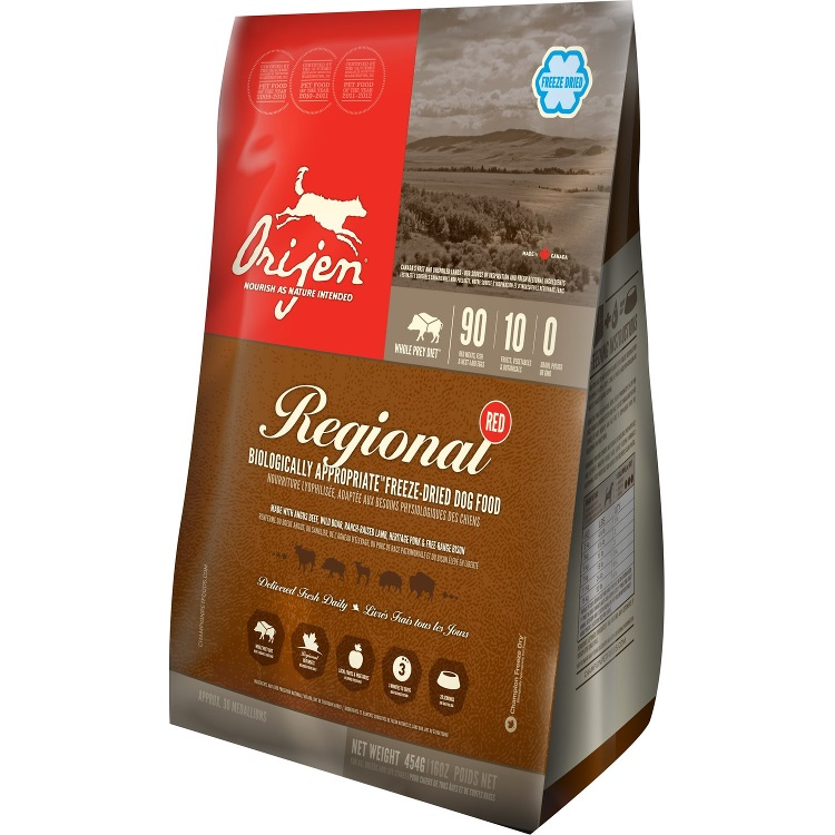 Orijen Regional Red Freeze-Dried Dog Food 1lbs
