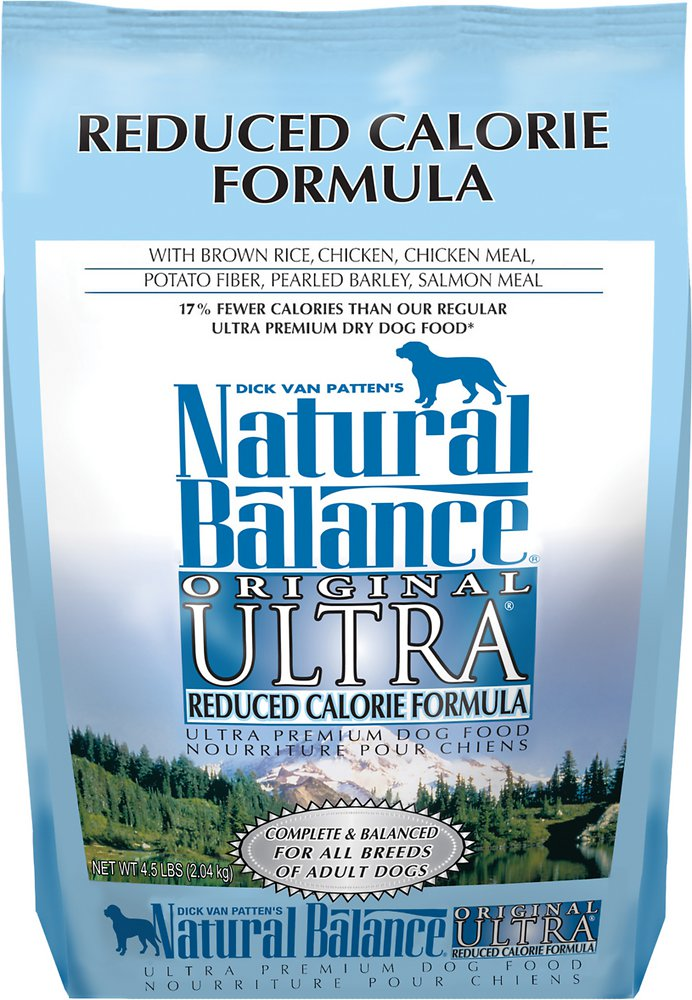 Natural Balance Original Ultra Reduced Calorie Formula Dry Dog Food 4.5lbs