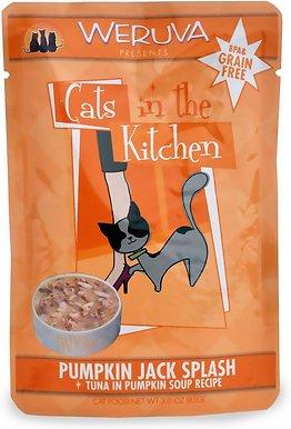 Weruva Cats in the Kitchen 'Pumpkin Jack Splash' Tuna in Pumpkin Soup Cat Food Pouches 3z, 8