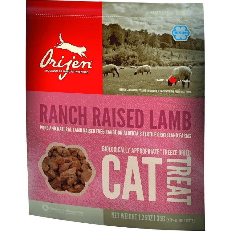 Orijen Ranch Raised Lamb Freeze Dried Grain-Free Cat Treats 1.25z