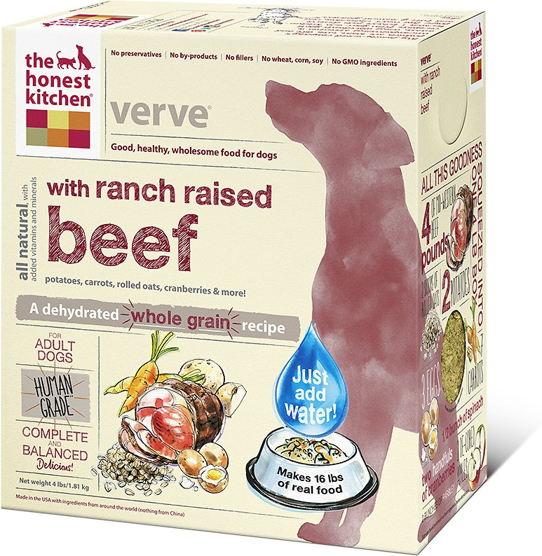 The Honest Kitchen Verve Dehydrated Dog Food 4lbs